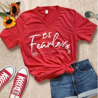 BrookeAlyson Be Fearless Tee