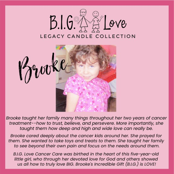 Legacy Candle: Brooke