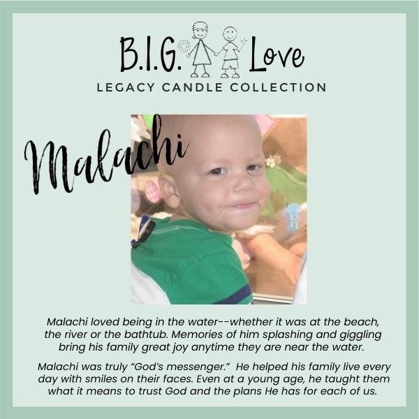 Legacy Candle: Malachi