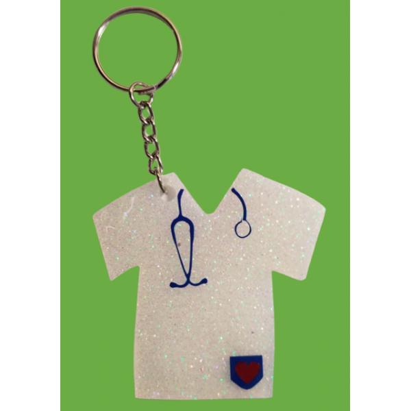 Nurse Scrub Keychain