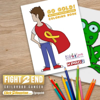 Go Gold Coloring Book