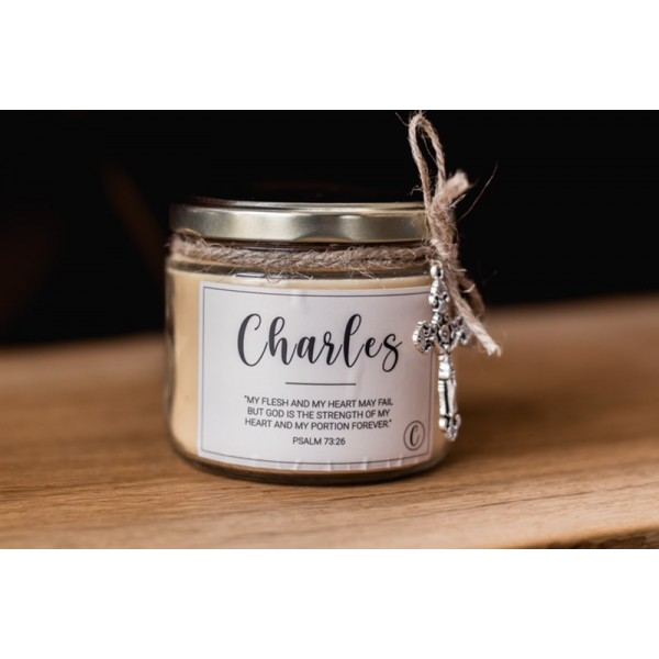 Legacy Candle: Charles