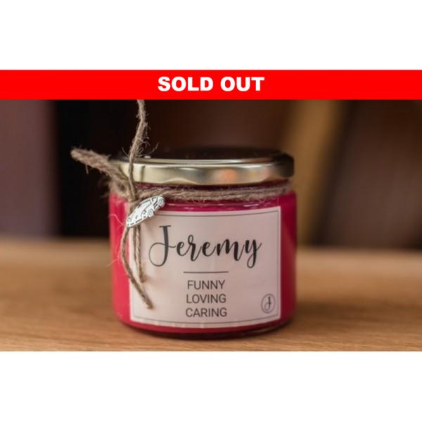 Legacy Candle: Jeremy