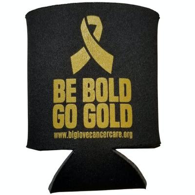 Be Bold Go Gold Drink Sleeve / Koozie