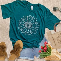 BrookeAlyson Flower Tee